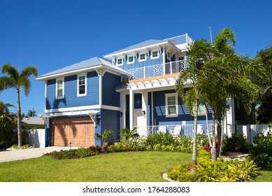Beautiful New Florida House with Palms Trees and Landscaping for Sale or Rent