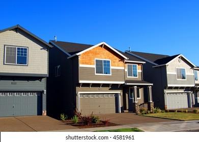 Beautiful New Houses in New Modern Neighborhood