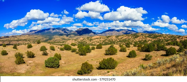 Beautiful New Mexico desert landscape.