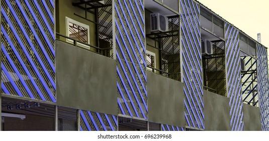 Beautiful new steel house