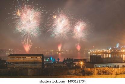 Beautiful new year firework pics