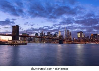 Beautiful New York City at night