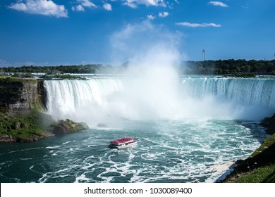 Beautiful Niagara falls in the summer, Canada