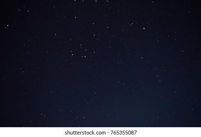 beautiful night sky and stars