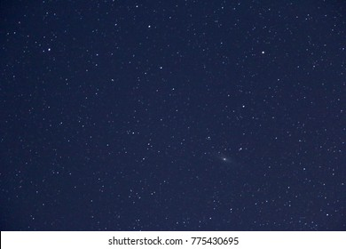 beautiful night sky and stars as background