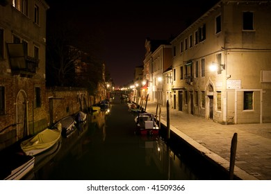 Beautiful night in Venice. Italy