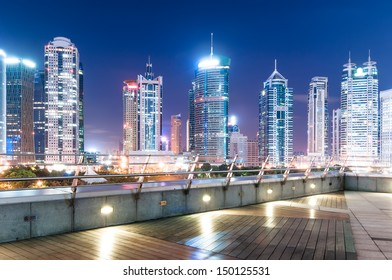 beautiful night view in shanghai