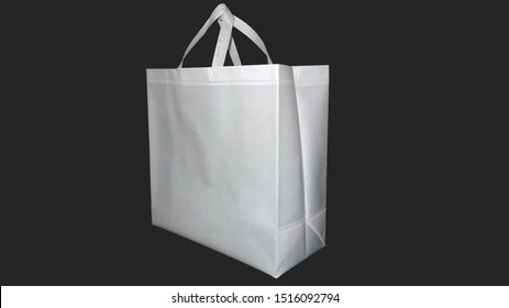 Beautiful Non Woven grocery shopping bag with black background