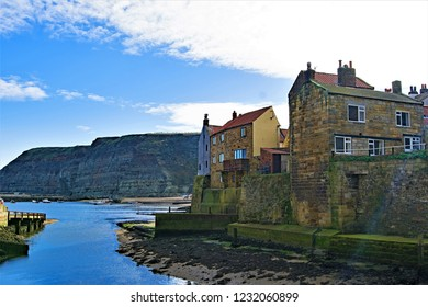 The beautiful North Yorkshire fishing village of staithes, is a photographer's paradise.
