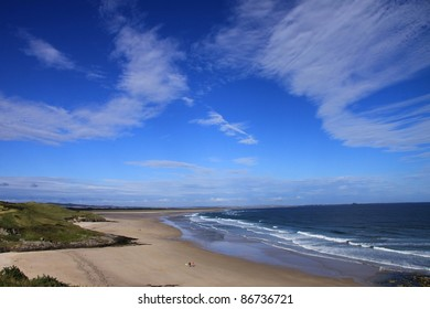 The beautiful Northumberland coastline, United Kingdom