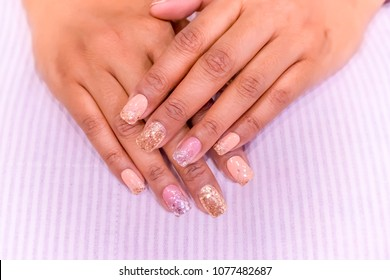 Uñas Decoradas Images Stock Photos Vectors Shutterstock