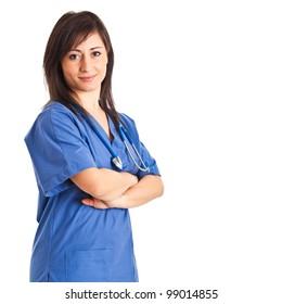 Beautiful nurse portrait