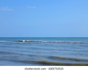 A Beautiful Ocean on Sanibel Florida Beach