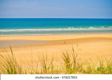 Beautiful ocean on the South-East of France