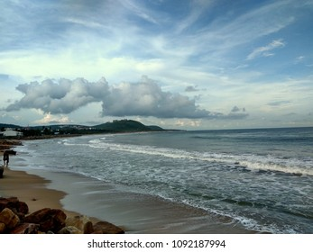 Beautiful ocean, Rushikonda Vizag