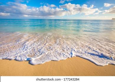 Beautiful Ocean Scape from Hawaii