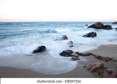 A beautiful ocean waves