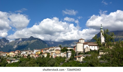 A beautiful October day in Belluno, Italy