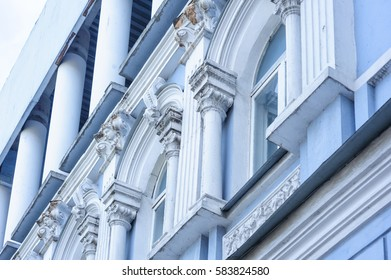 beautiful old architecture arches columns and pilasters