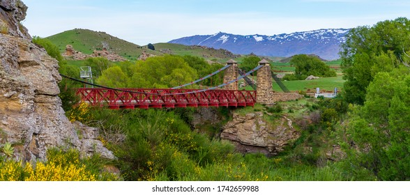A Beautiful Old Bridge In Ophir, New Zealand