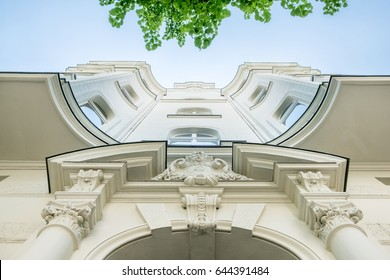 beautiful old building front - exterior