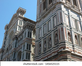 Beautiful old building and landscape of Italy.