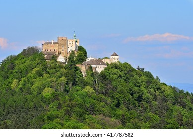 Beautiful old castle Buchlov. South Moravia-Czech Republic-Europe.