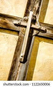 beautiful old cross - close up photo