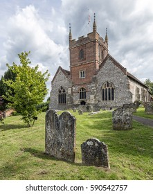 Beautiful old English churchyard
