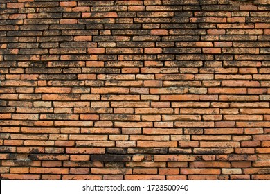 beautiful old grounge brick wall texture or background