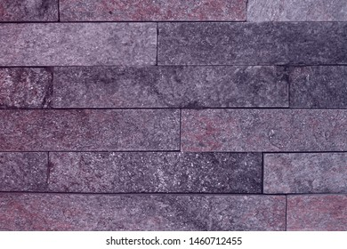 beautiful old natural quartzite stone bricks texture for background use.