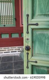 Beautiful old palace in Korea