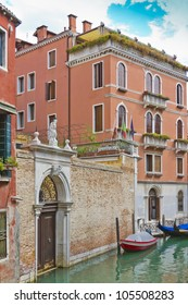 Beautiful Old Palace in Venice, Italy, Europe