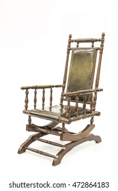 Beautiful old Rocking Chair on white background.  sc 1 st  Shutterstock & Antique Rocking Chair Images Stock Photos u0026 Vectors | Shutterstock