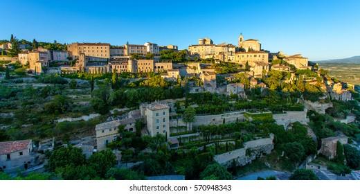 Beautiful old village called Gordes, France