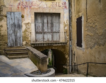 Beautiful old village of Menerbes in Provence, France