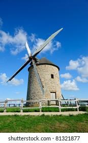 Beautiful old windmill