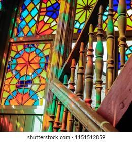 Beautiful old windows in Tbilisi