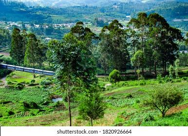 Beautiful Ooty Coonoor Morning Train View  Tamilnadu India