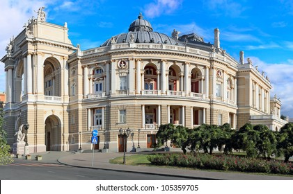 Beautiful opera and ballet house in Odessa Ukraine
