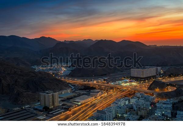 beautiful-orange-sky-over-muscat-600w-18
