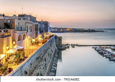 Beautiful Otranto by Adriatic Sea, Puglia, Italy
