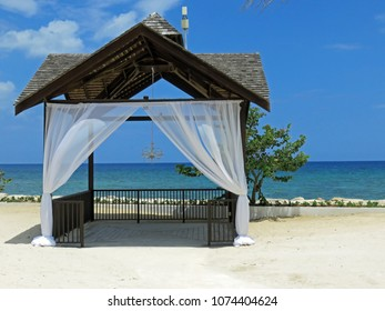 Beautiful Outside Wedding Chapel Montego Bay Jamaica Beach