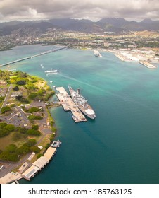 Beautiful overview of Pearl Harbor