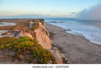 Beautiful Pacific coast, near Santa Barbara, California