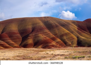 The beautiful Painted Hills in Eastern Oregon