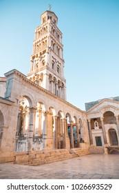 Beautiful palace built for the Roman Emperor Diocletian - Split, Croatia