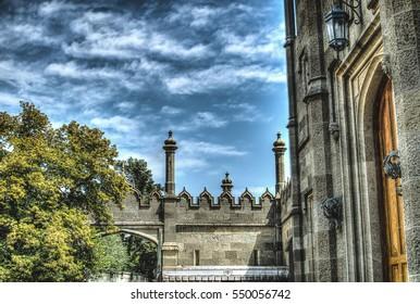 Beautiful Palace Vorontsov HDR Sky, krasibo and richly