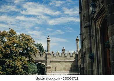 Beautiful Palace Vorontsov Sky, krasibo and richly
