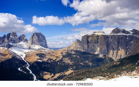 beautiful panorama of the Alps